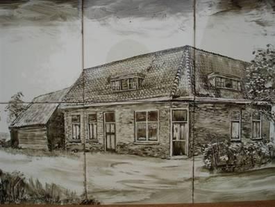 Winkel en café anno 1929.